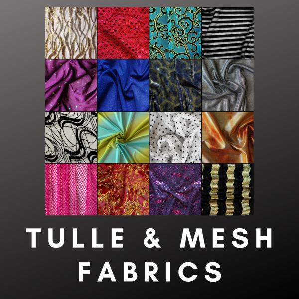 Wholesale Tulle and Mesh Fabrics