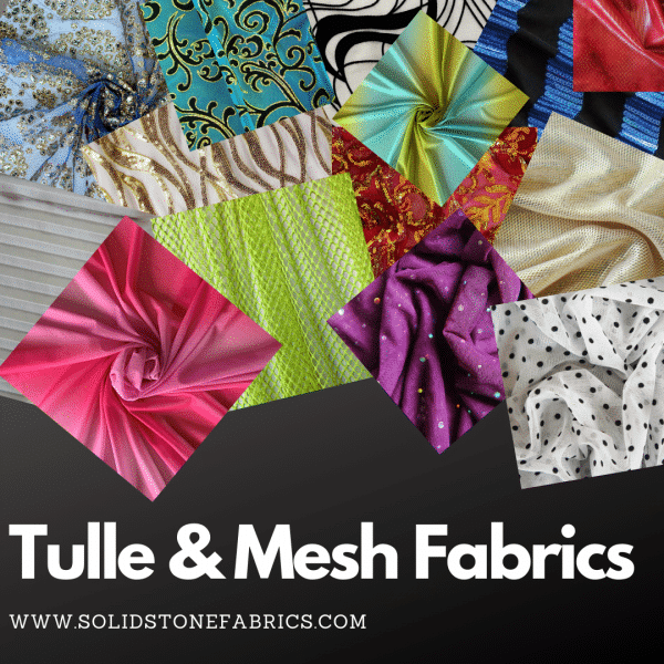 Wholesale Tulle Fabrics