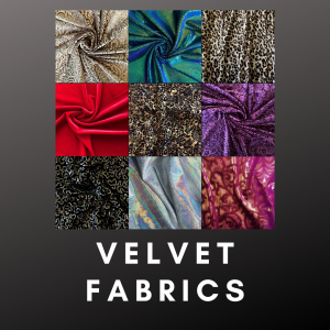 Wholesale Velvet Fabric - Solid Stone Fabrics