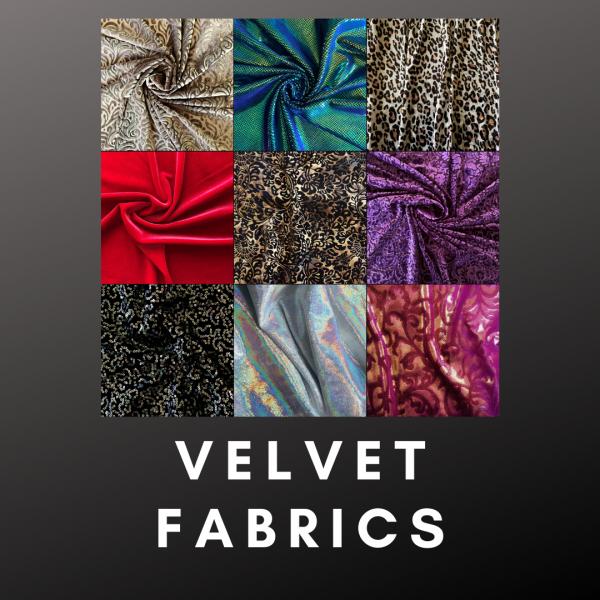 Wholesale Velvet Fabric - Solid Stone Fabrics