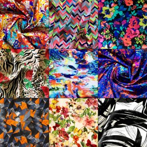 Wholesale Swimwear Fabric Prints
