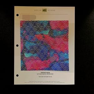 Fish Scale Fabric Swatches