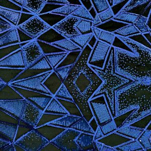 Blue Sequin Stretch Velvet Fabric - Solid Stone Fabrics - Stretch Fabrics and Custom Fabric Printing Since 2003