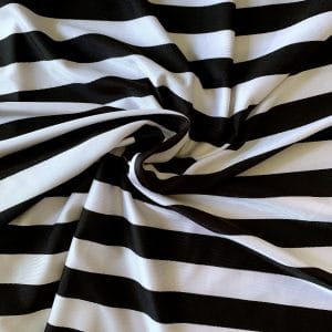 Striped Swimwear Fabric