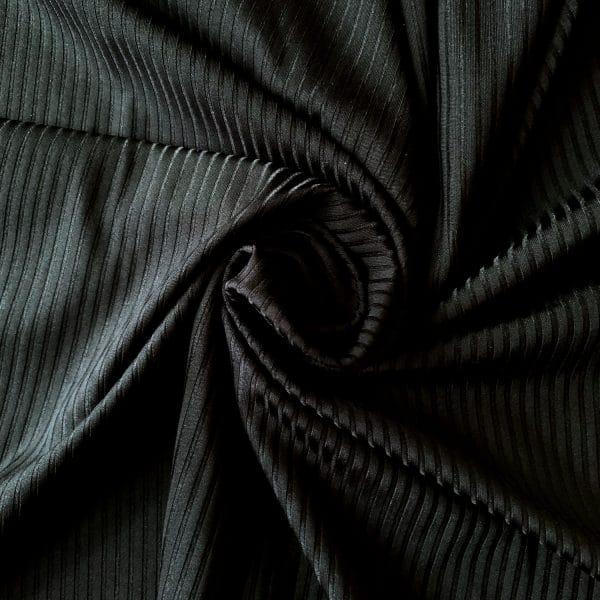Wholesale Ribbed Jersey Fabric - Jersey Lomellina Renew Folk - Solid Stone Fabrics