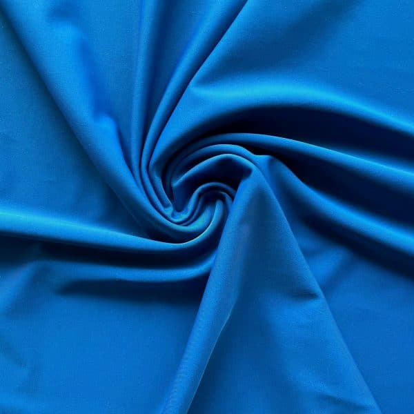 Blue Italian Swimwear Fabric