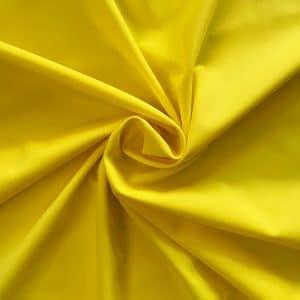 Yellow Econyl Bikini Fabric