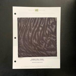 Zebra Glitter Fabric Swatches